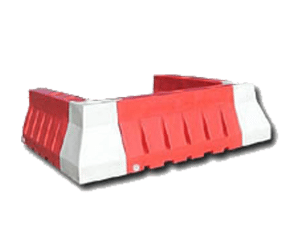 Rent Plastic Jersey Barricades for Nationwide Traffic Control Rentals