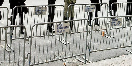 Steel Barrier Rentals - Crowd Control Barricade Rentals