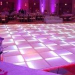 Lighted Dance Floor Rentals from Ally Rental