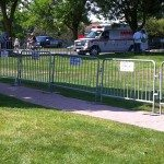 Ally Rental Steel Barricades at Spartan Race