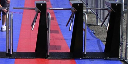Rent Turnstiles For Pedestrian Access Control