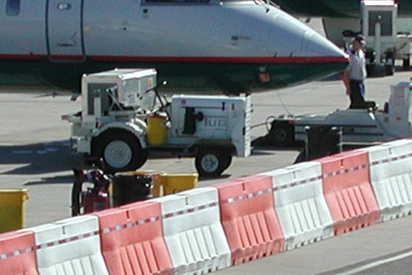 Rent Plastic Jersey Barriers For Airport Runway Safety