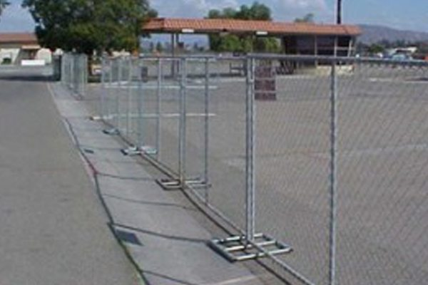 Rent Chain Link Fencing To Secure Construction Work Zone Rentals