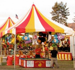 Rent Event Tents for Exhibitors or Concessions