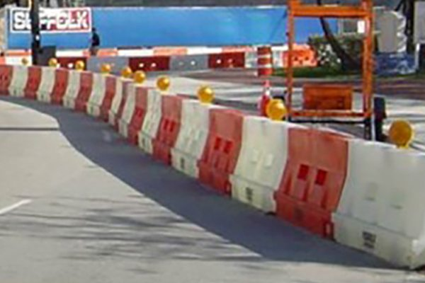 General Construction Rentals - Plastic Jersey Barriers For From Ally Rental