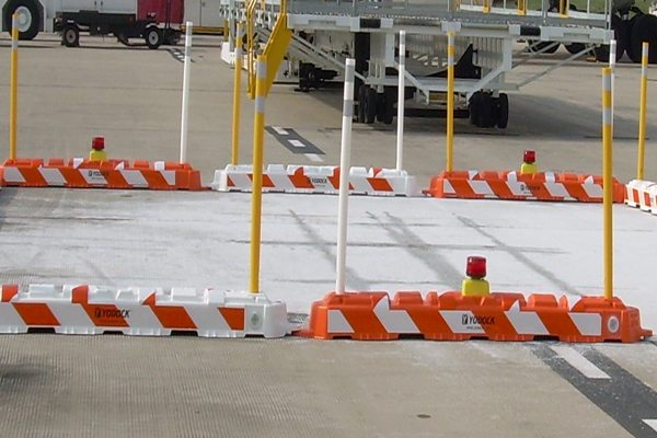 Low Profile Airport Jersey Barrier Rentals - Ideal For Airport Rentals