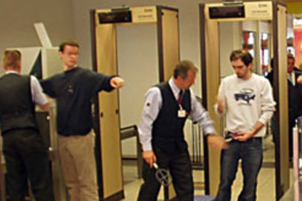 Rent Metal Detectors For Airport Security