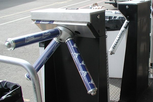 Outdoor Turnstile Rentals For Fair And Festival Access Control