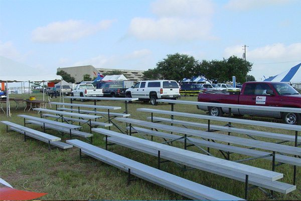 Rent Aluminum Bleachers For Fairs And Festivals