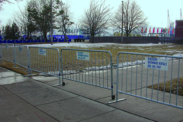 Rent Crowd Control Steel Barriers Nationwide From Ally Rental