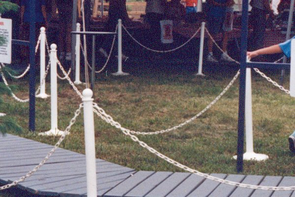Plastic Stanchions And Chain