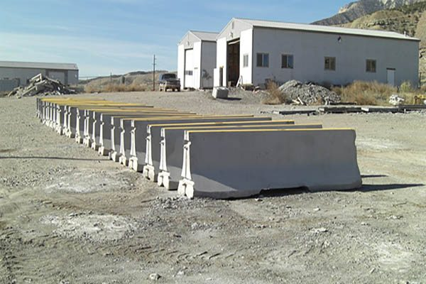 Concrete Jersey Barriers For Long Term Safety