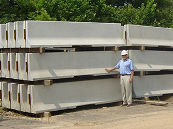 Large Inventory Of Concrete Jersey Barricades For Nationwide Rentals From Ally Rental