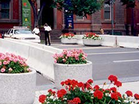 Rent Concrete Jersey Barriers From Ally Rental To Create Temporary Street Blockades