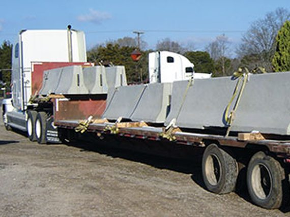 The Ally Rental Partner Network Ensures Cost Effective Shipping Of Concrete Jersey Barrier Rentals