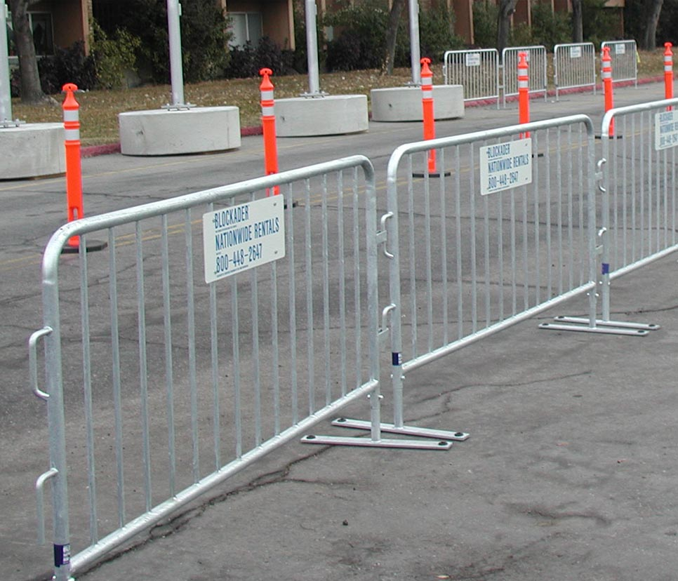Rent Delineator Posts And Steel Barriers For Traffic Safety From Ally Retntal