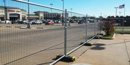 Nationwide Chain Link Fence Rentals From Ally Rental